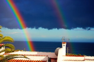 Dubbel regnbåge