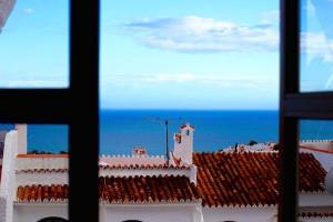 Utsikt från fönstret mot Medelhavet