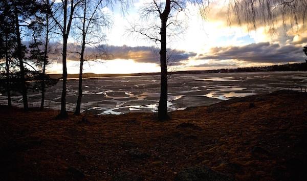 Vinterns sista timmar fångade på bild