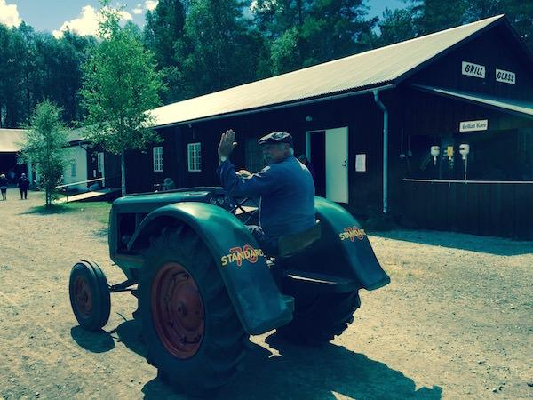 Traktor gammelvala Värmland
