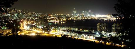 Port of Spain nattetid