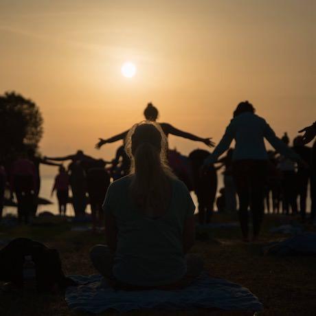 Yoga på Rhodos